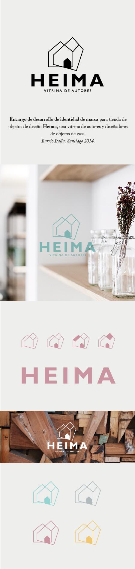 identidad de marca heima